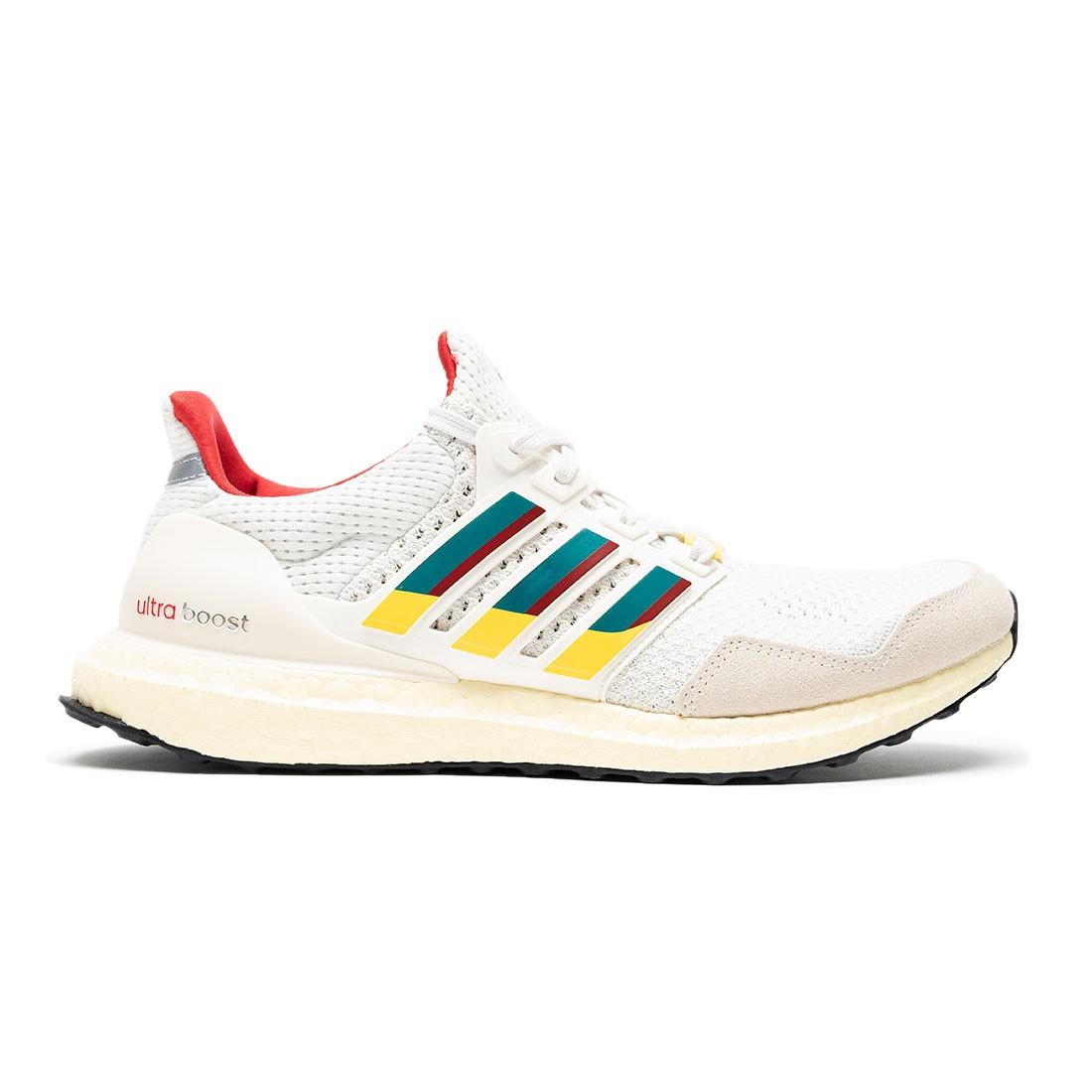 Adidas Men UltraBoost 1.0 DNA (white / eqt green / scarlet)