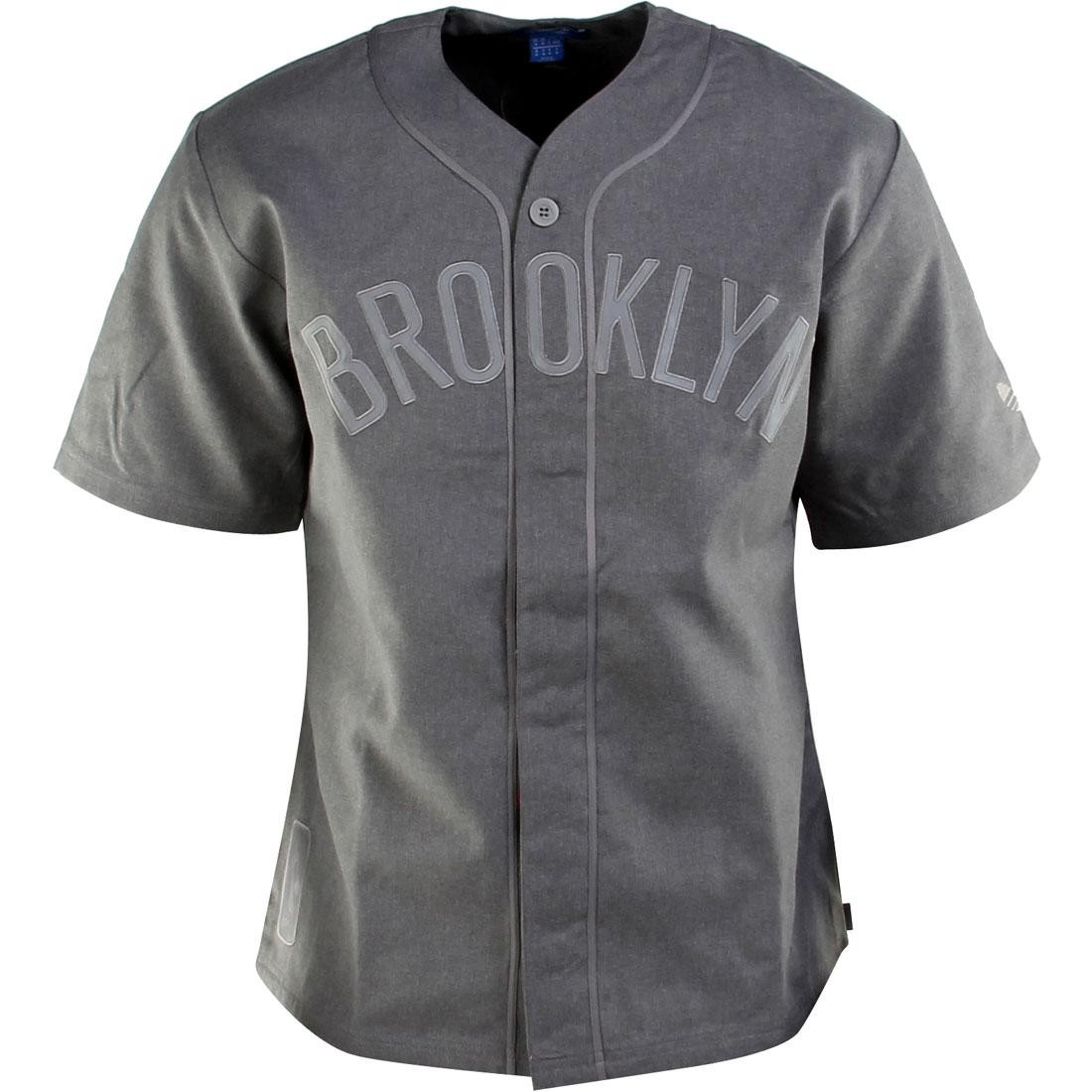 Adidas NBA Brooklyn Jersey (gray / corhtr)