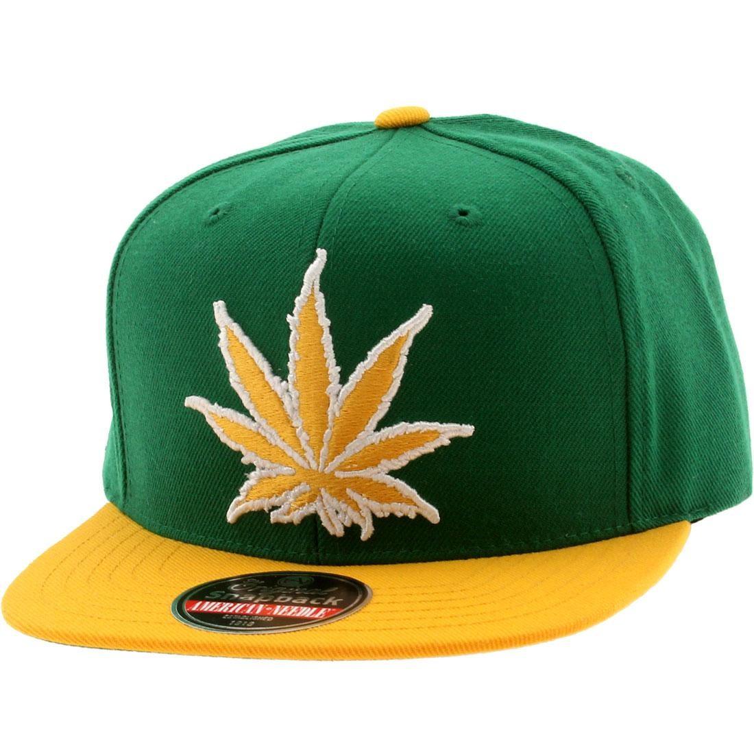 American Needle Experience Washington Legalized Cap (green / gold)