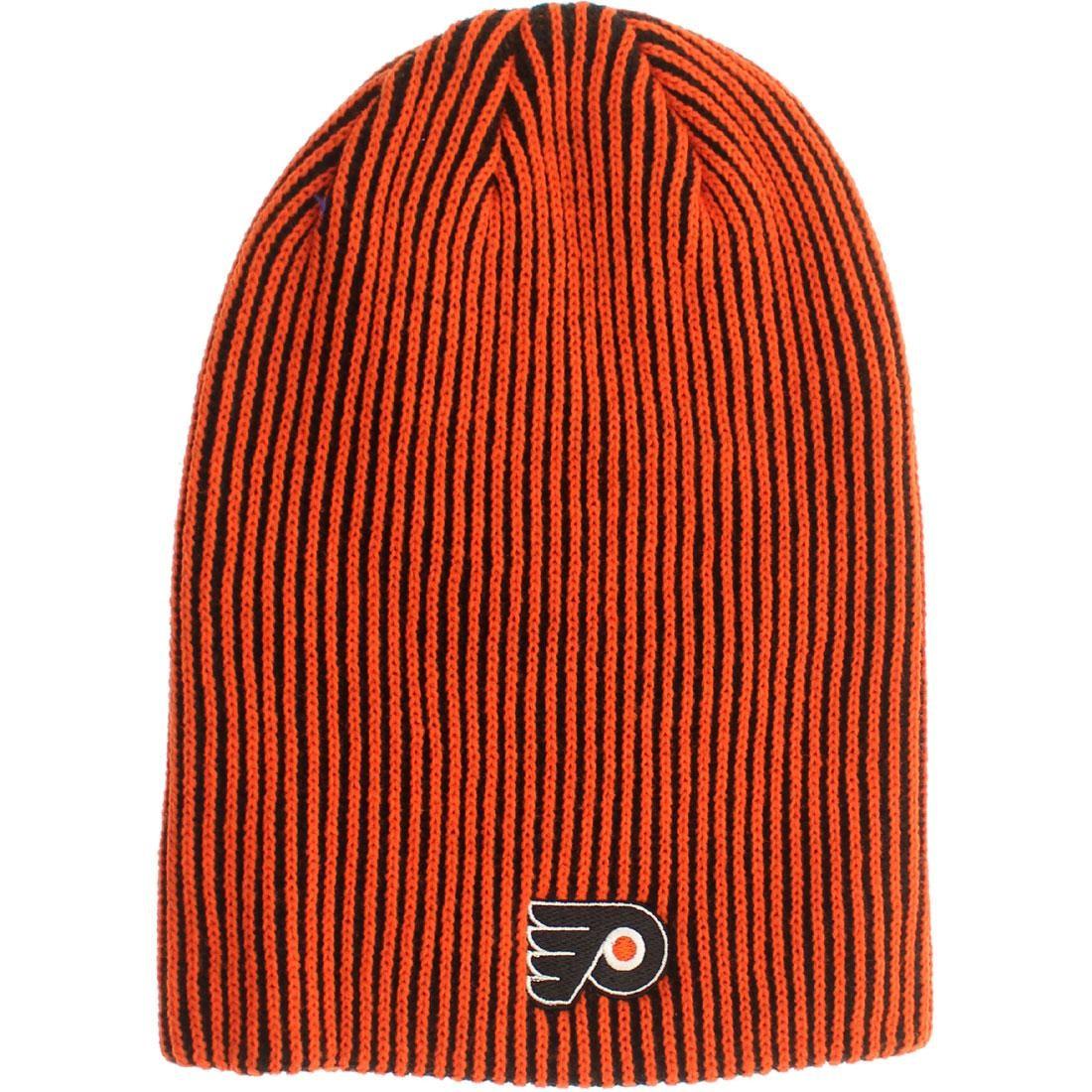 American Needle Philadelphia Flyers Team Switch Knit Beanie (Black / Orange) by Bait