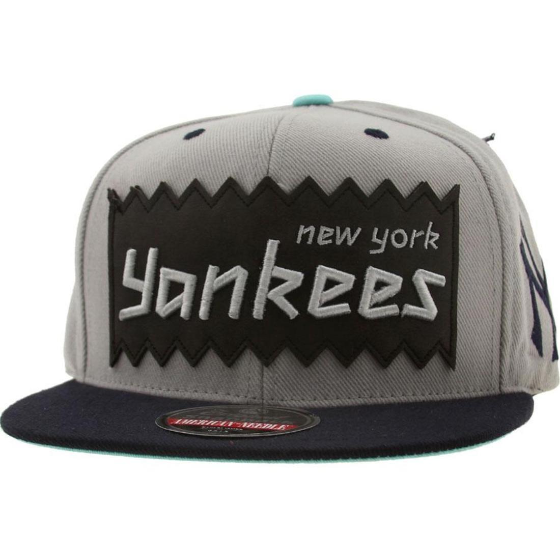 promo code 3fffa 12f2d ... sale bait x mlb x american needle new york yankees retro snapback cap  silver navy bb4be