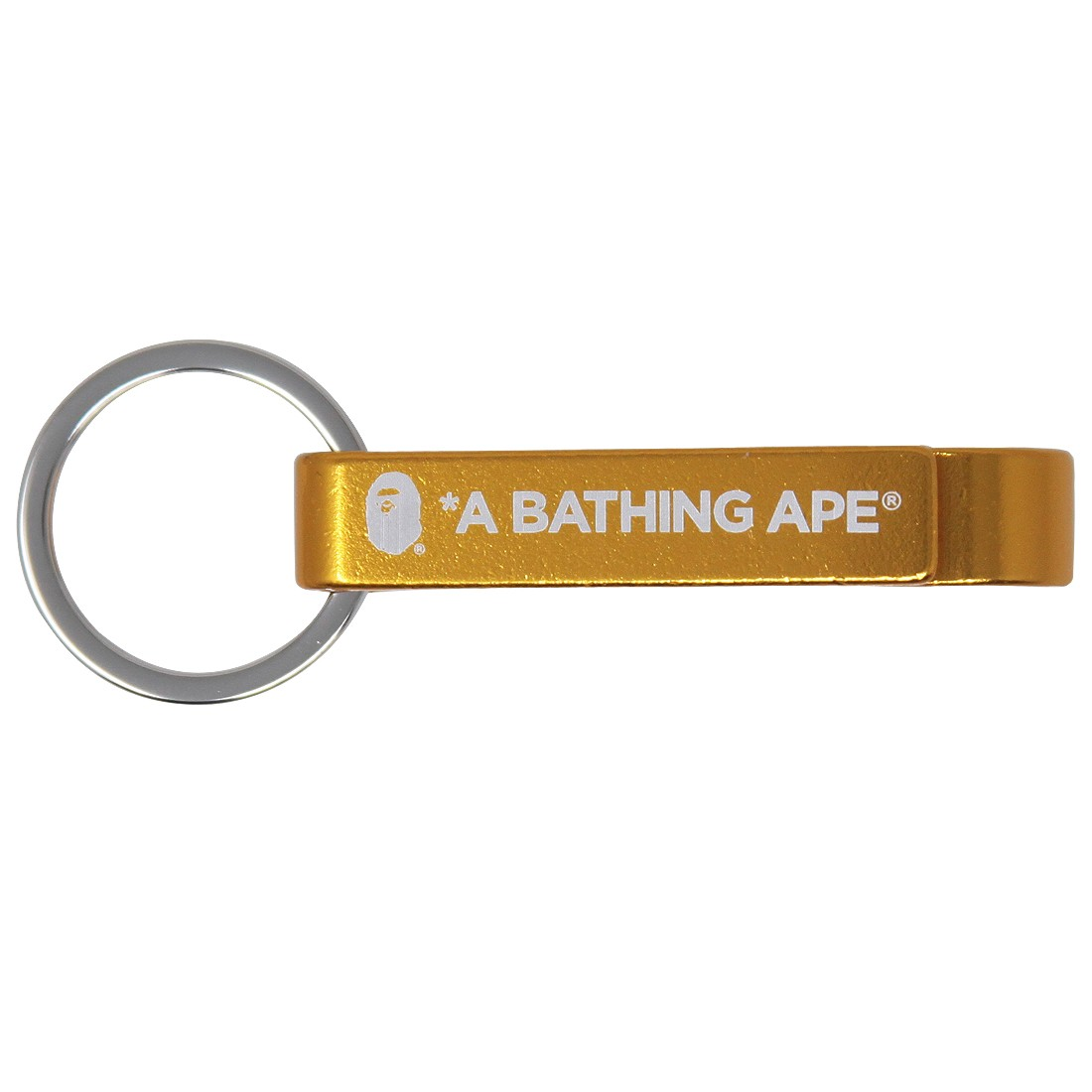 A Bathing Ape Bape Bottle Opener Keychain (orange)