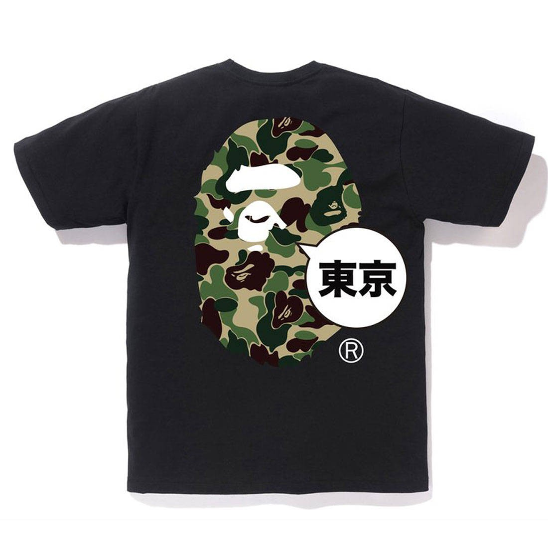A Bathing Ape Men Tokyo Big Ape Head City Tee (black)