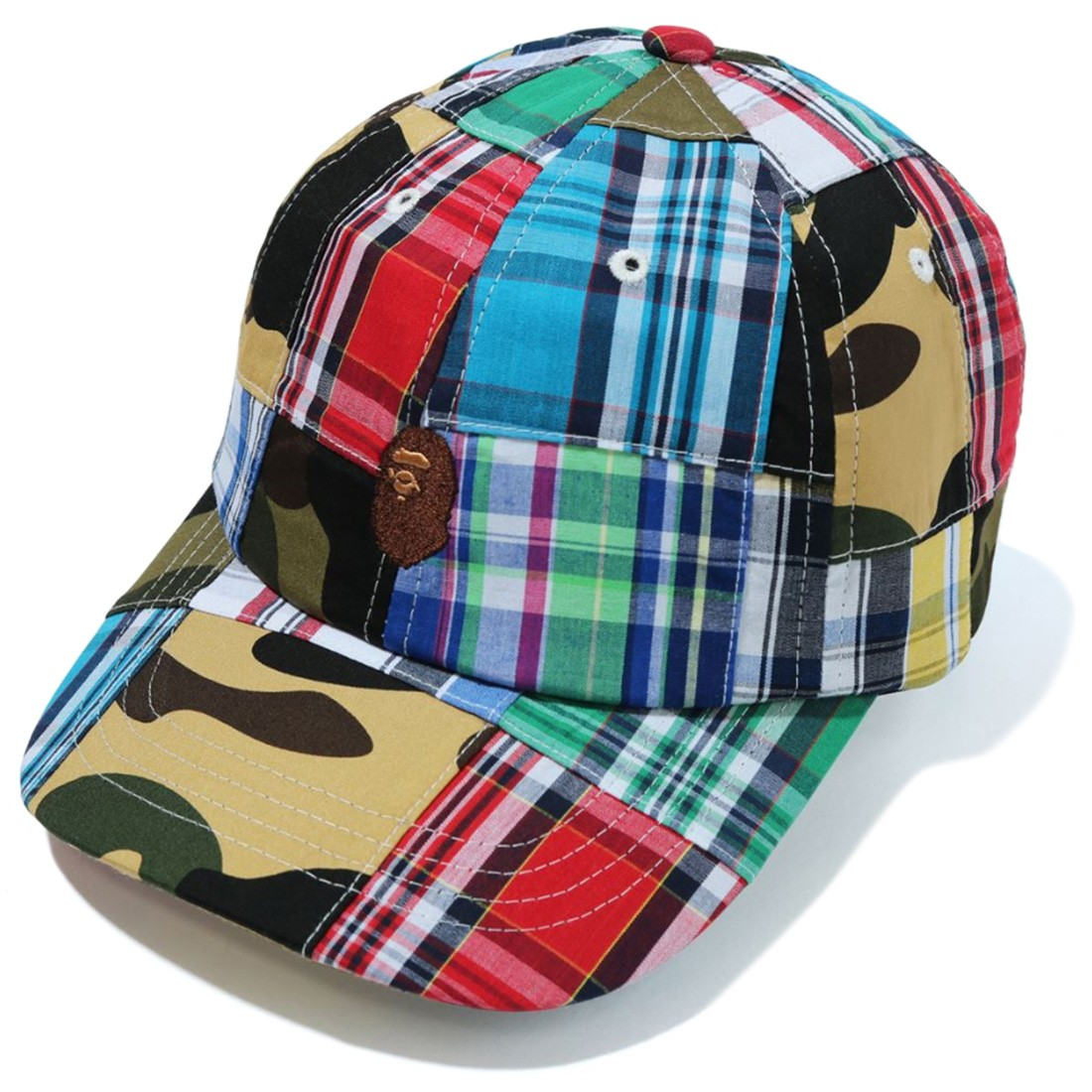 A Bathing Ape Patchwork Panel Cap (multi)