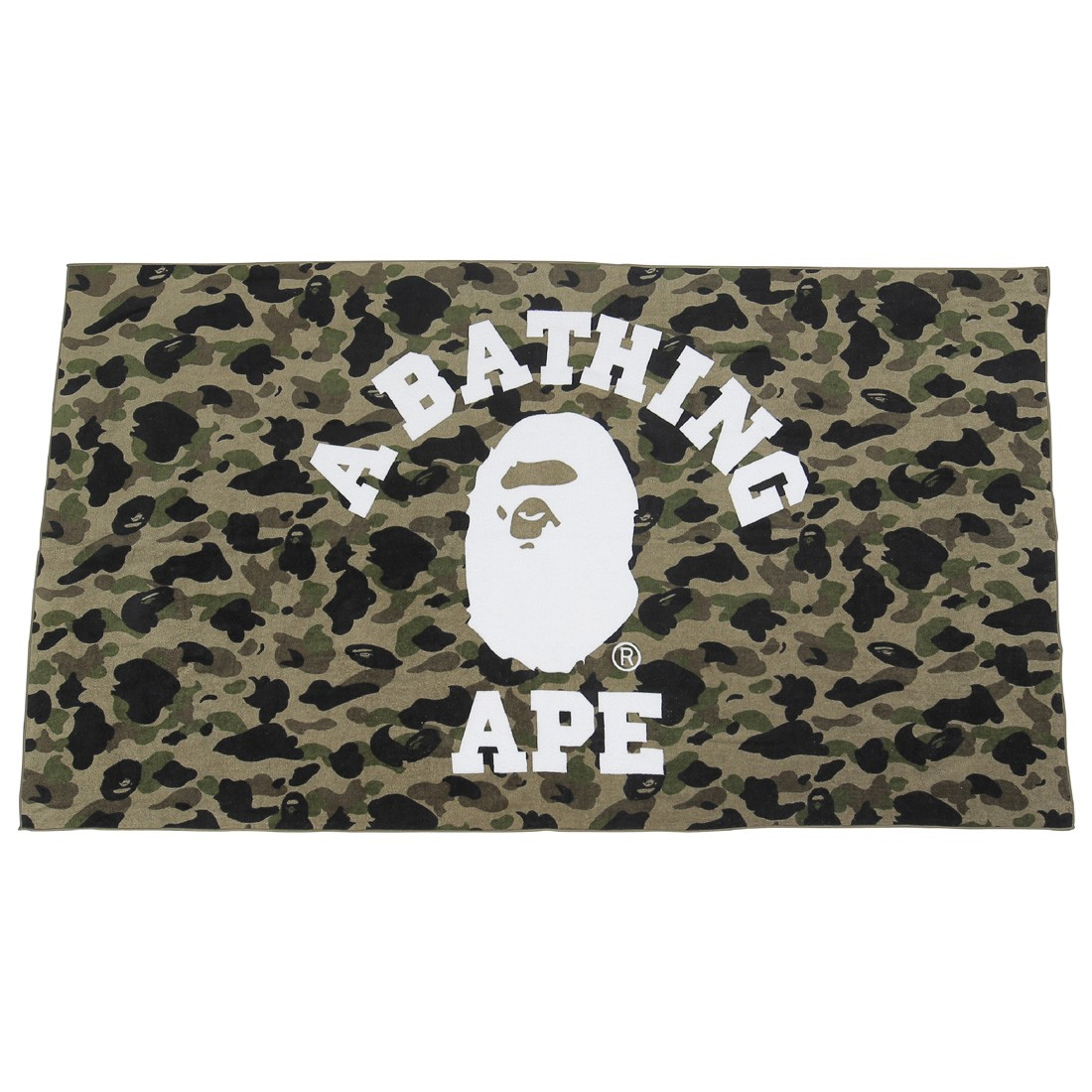 A Bathing Ape 1st Camo Beach Towel (green)