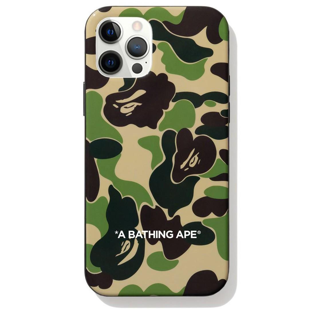 A Bathing Ape ABC Camo iPhone 12 / 12 Pro Case (green)