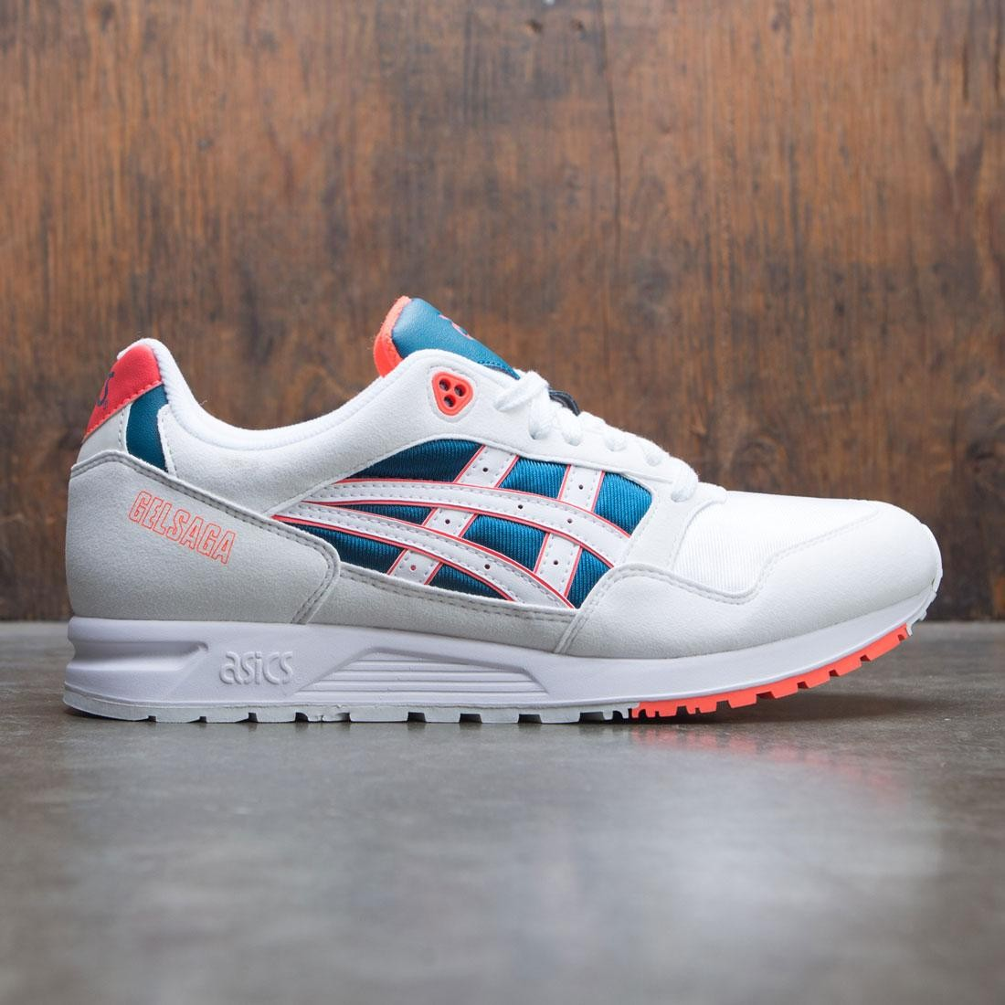 Asics Tiger Men Gel Saga (white flash coral)