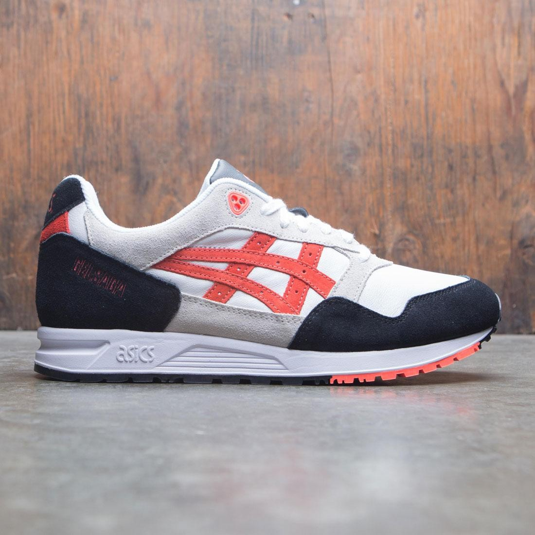 best service b29c7 c6405 Asics Tiger Men Gel Saga (white / flash coral)