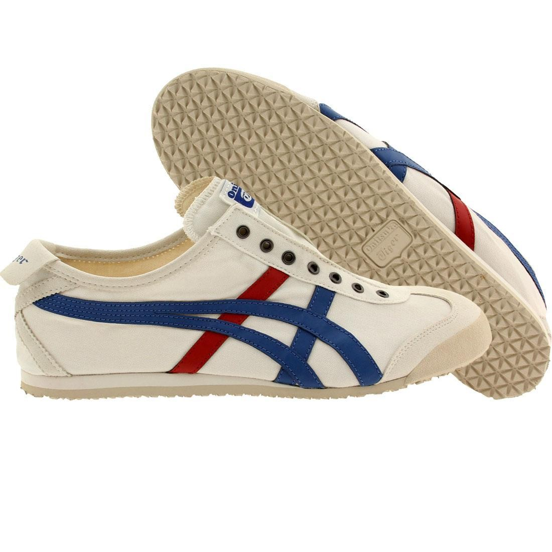 huge discount 64033 1a83e Onitsuka Tiger Men Mexico 66 Slip-On (white / tricolor)
