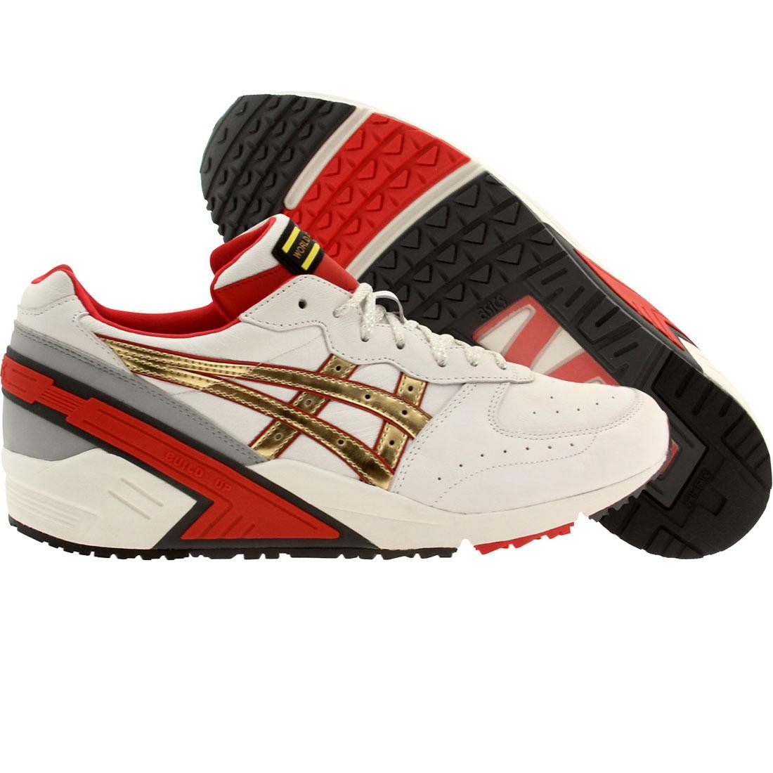 competitive price c68d2 40ad2 Asics Tiger Men Gel Sight - World Challenger (white / red / gold)