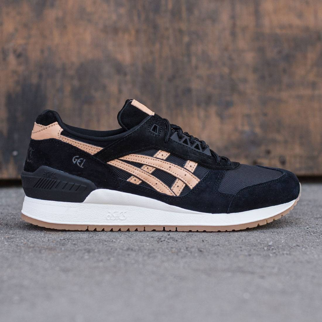 c27d5e144f63 Asics Tiger Men Gel-Respector - Veg Tan Pack black sand