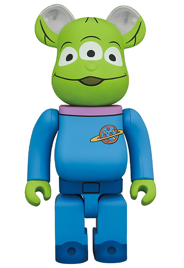 PREORDER - Medicom Disney Toy Story Alien 1000% Bearbrick Figure (blue)