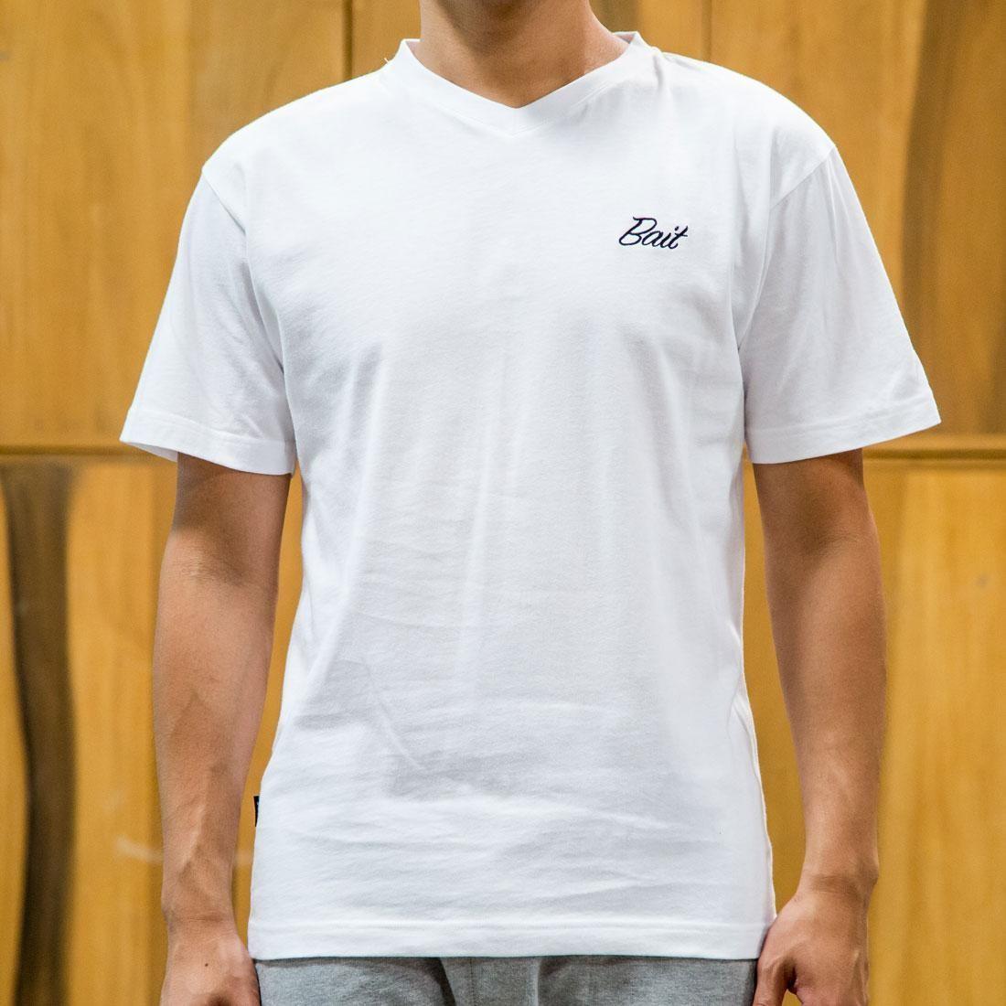 BAIT Men Core V-Neck Tee (white)