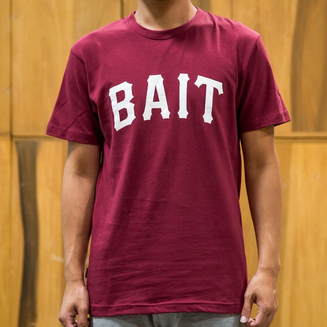 BAIT Heavy Hitter Tee (burgundy)
