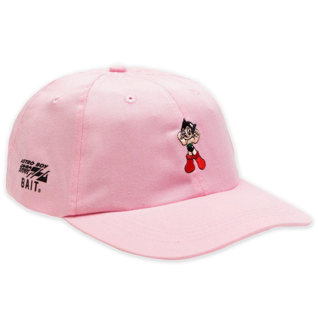 BAIT x Astro Boy Logo Dad Cap (light pink)