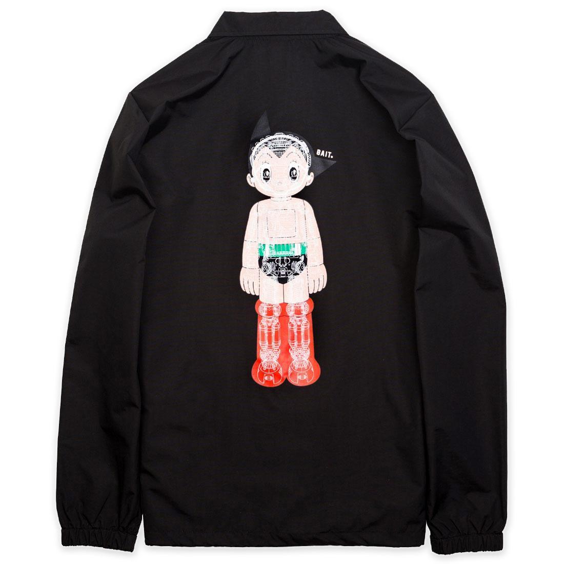 BAIT x Astro Boy Men Mechanics Coaches Jacket (black)