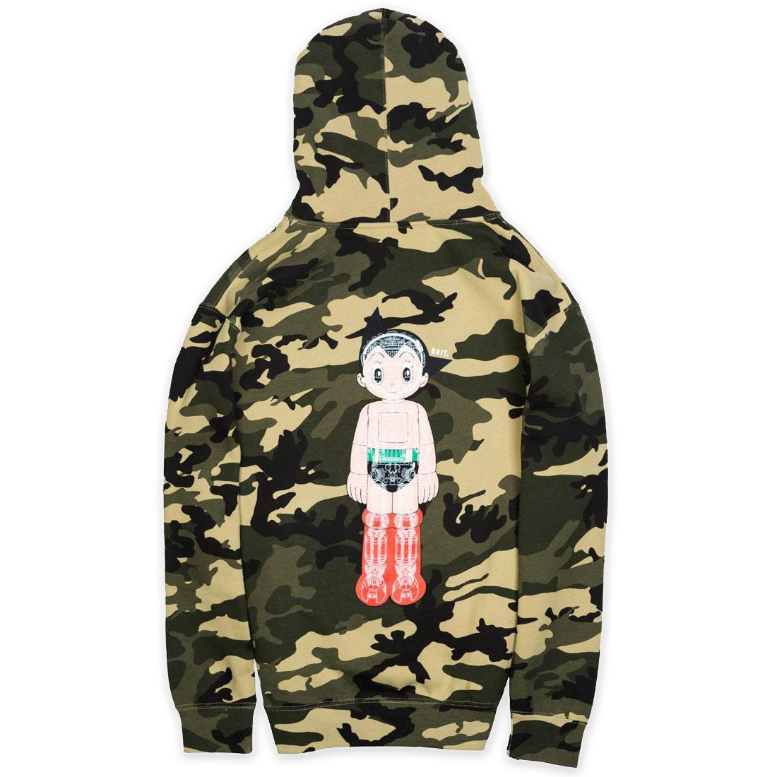 BAIT x Astro Boy Men Mechanics Hoody (camo / army)