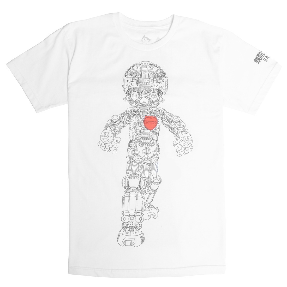 BAIT x Astro Boy Men Mechanical Tee (white)