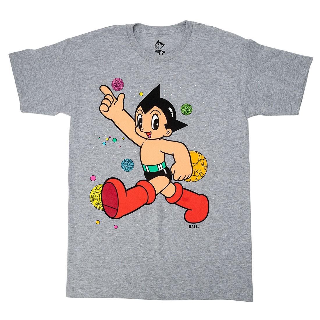 BAIT x Astro Boy Men Space Puff Print Tee (gray)