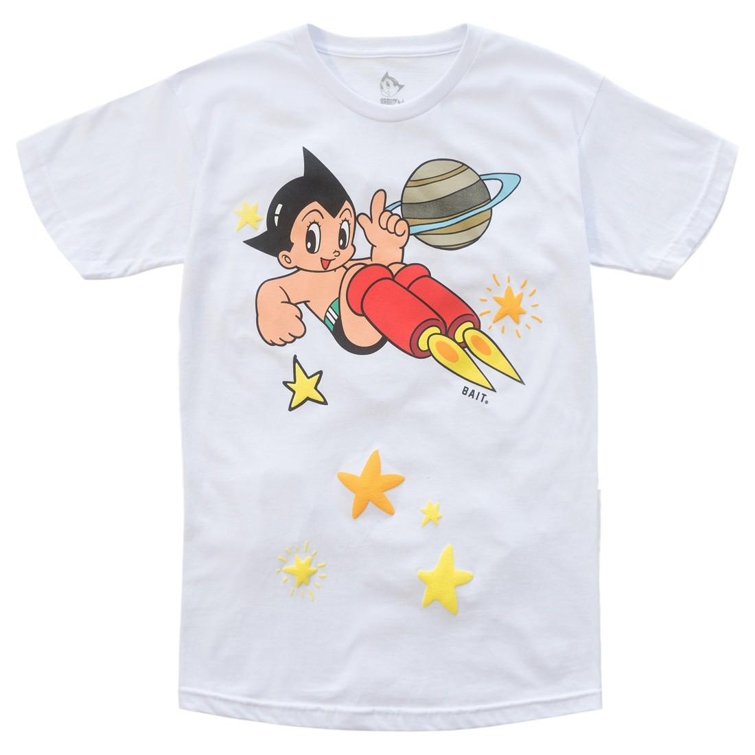 BAIT x Astro Boy Men Stars Puff Print Tee (white)