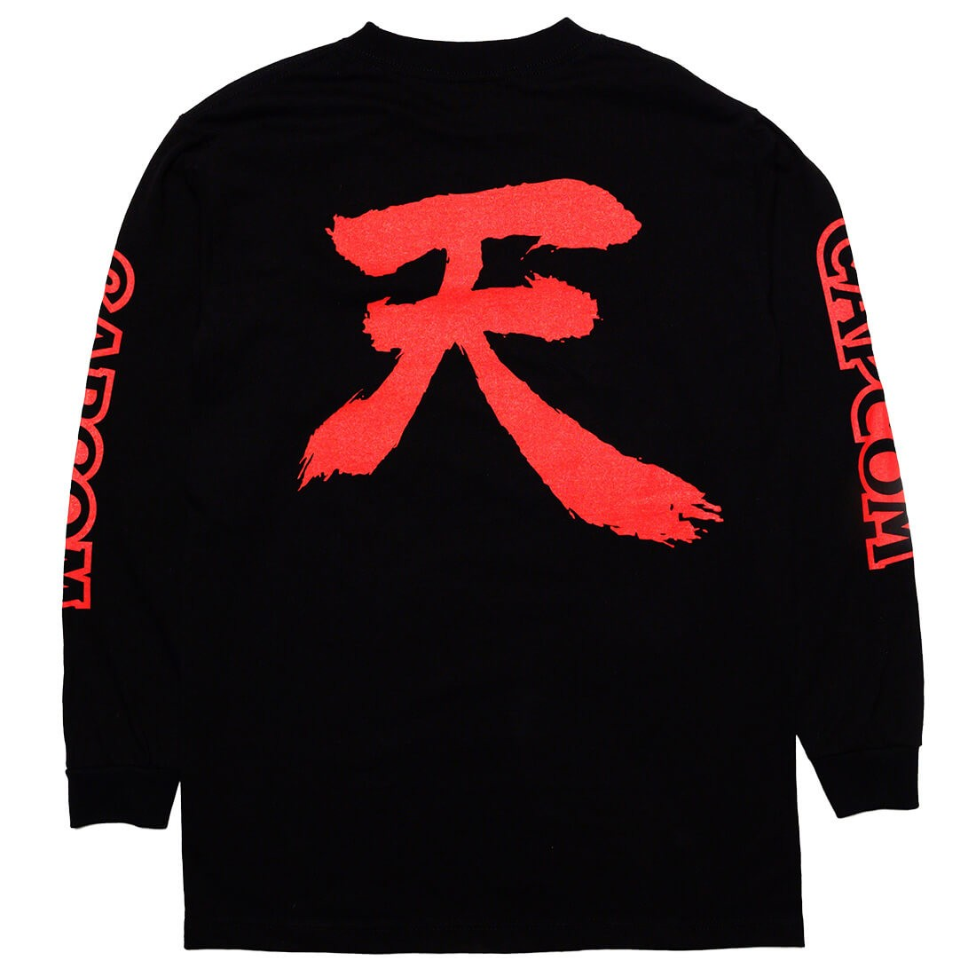 BAIT x Street Fighter Men Akuma Long Sleeve Tee (black)
