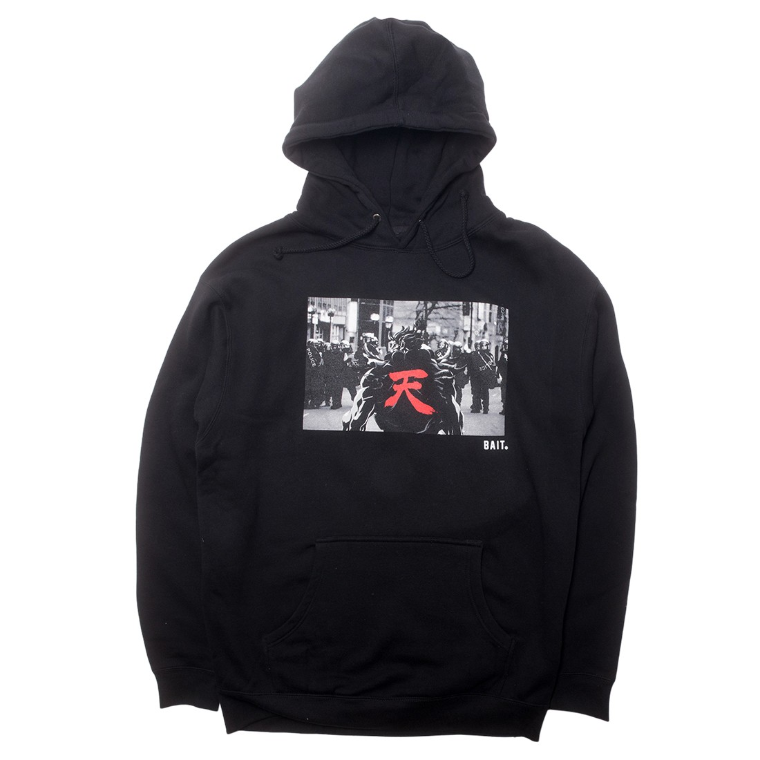 BAIT x Street Fighter Men Akuma Riot Snapshot Hoody (black)