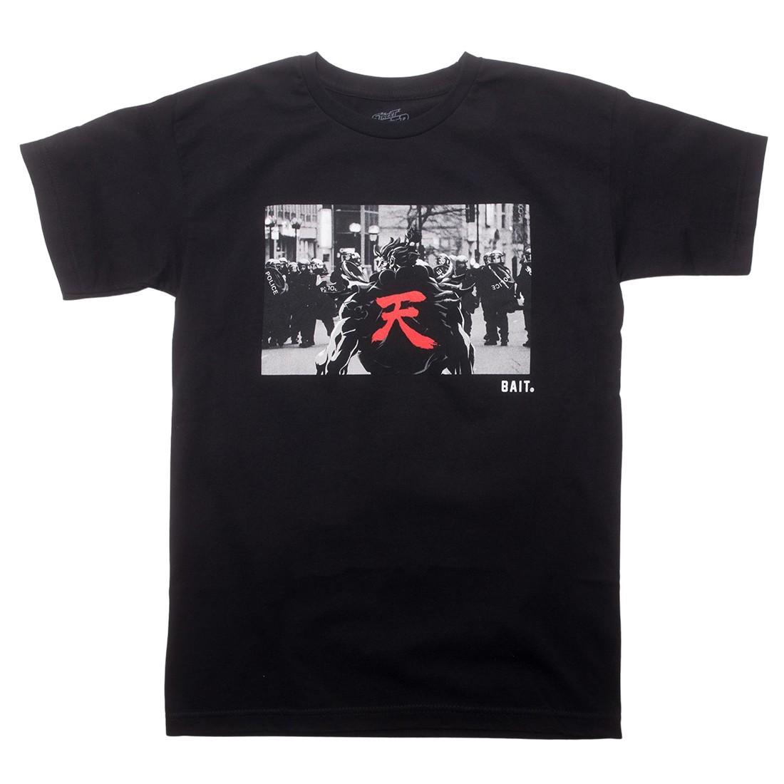 BAIT x Street Fighter Men Akuma Riot Snapshot Tee (black)