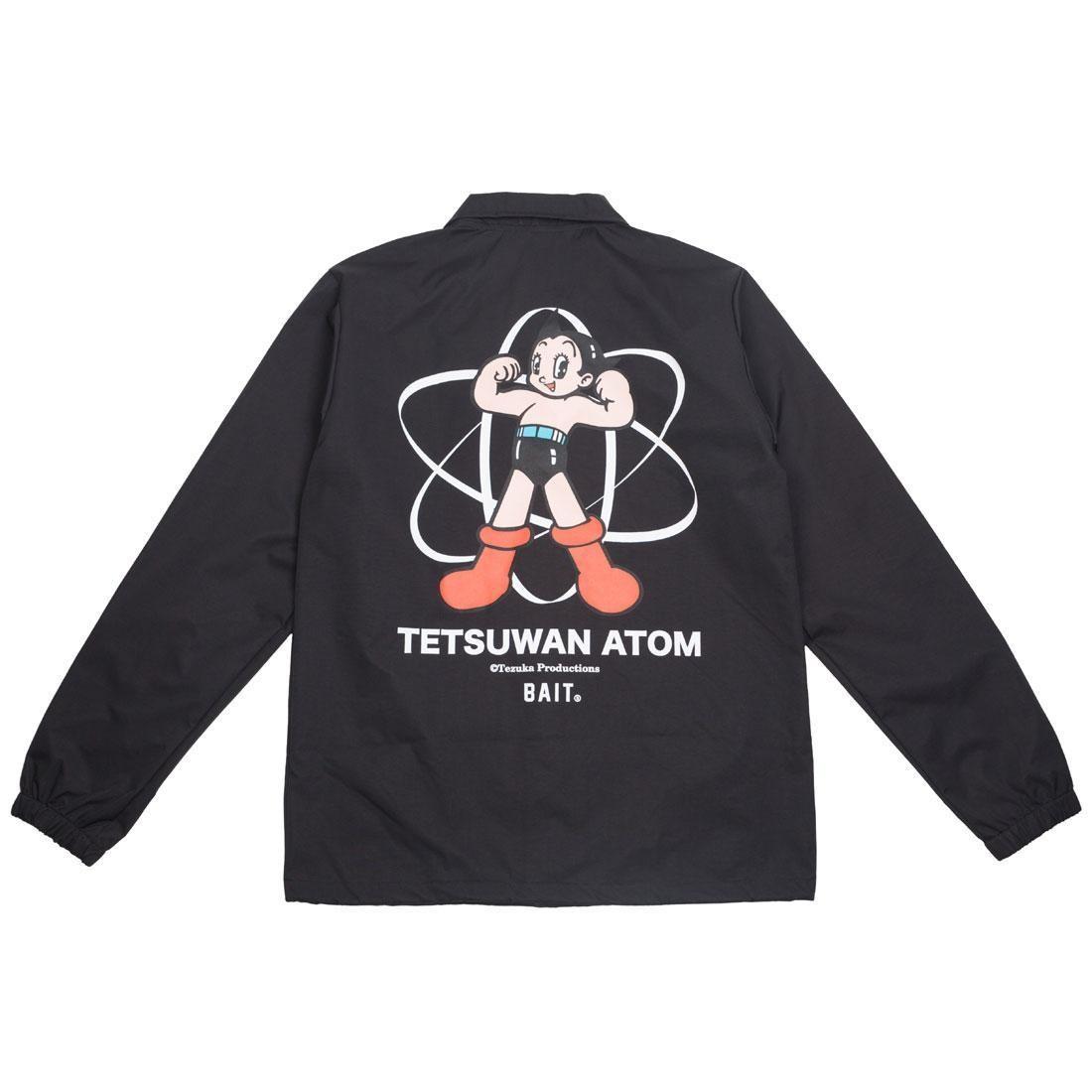 BAIT x Astro Boy Men Tetsuwan Atom Coaches Jacket (black)