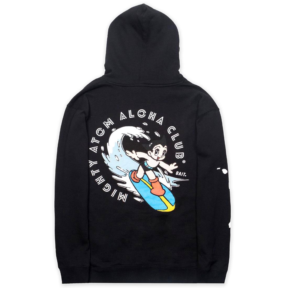 BAIT x Astro Boy Men Aloha Surf Hoody (black)