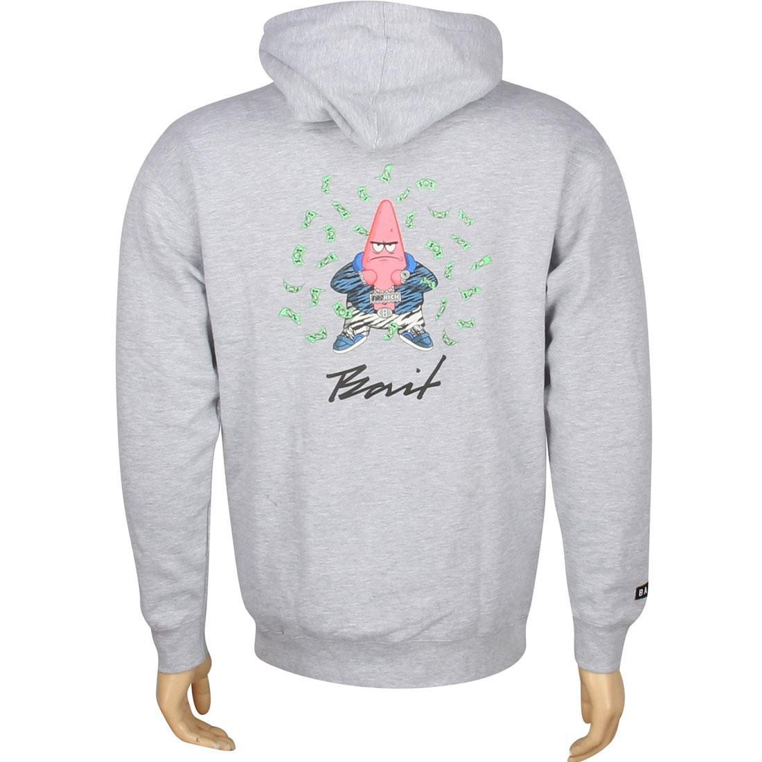 BAIT x SpongeBob Patrick Pullover Hoody (grey heather)