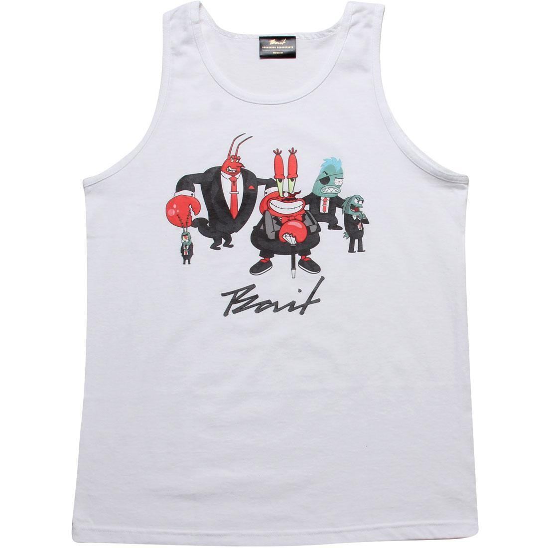 BAIT x SpongeBob Mr Krabs Tank Top (white)