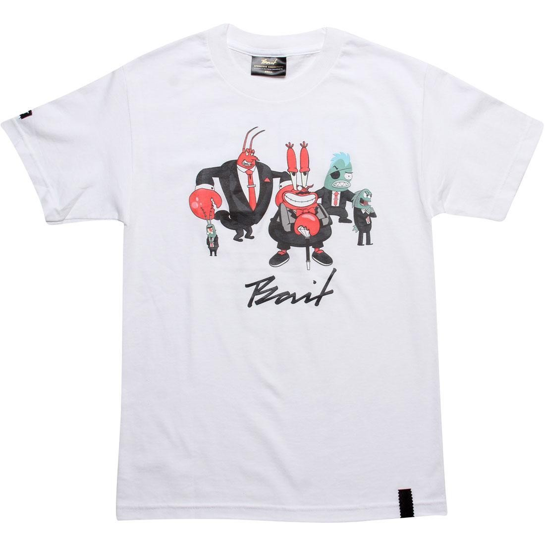 BAIT x SpongeBob Mr Krabs Tee (white)
