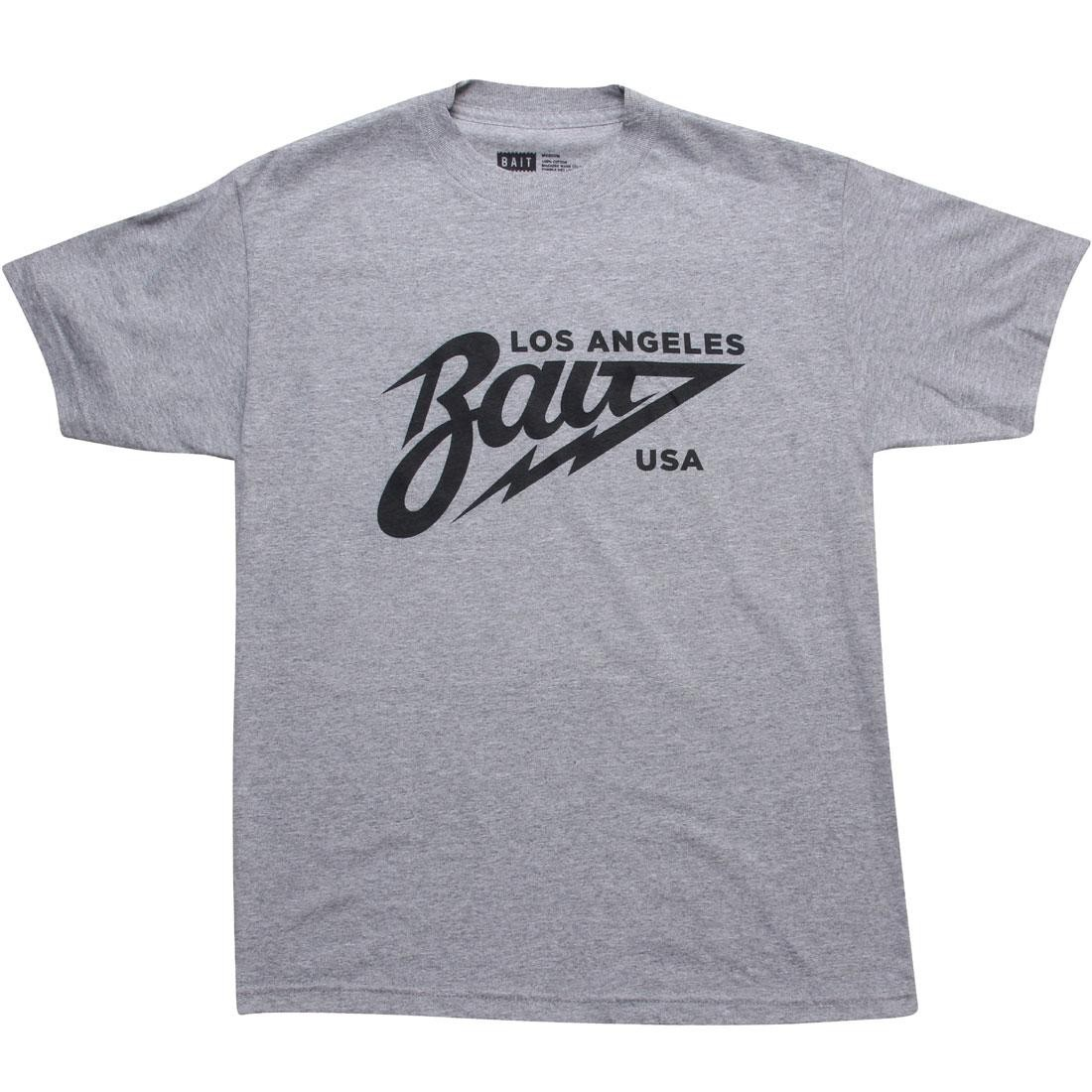 BAIT Los Angeles Tee (heather grey / black)