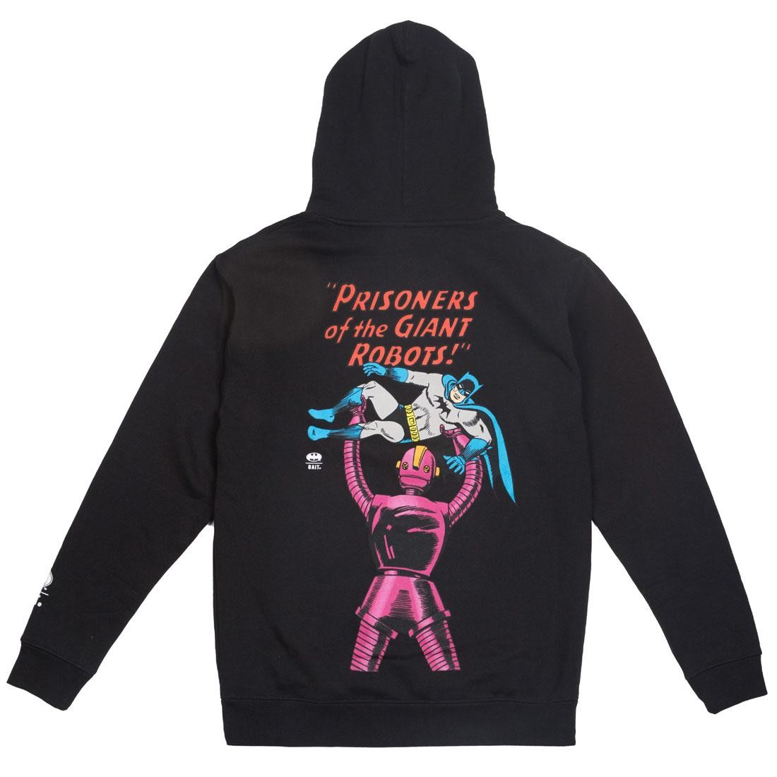 BAIT x Batman Men Giant Robots Hoody (black)