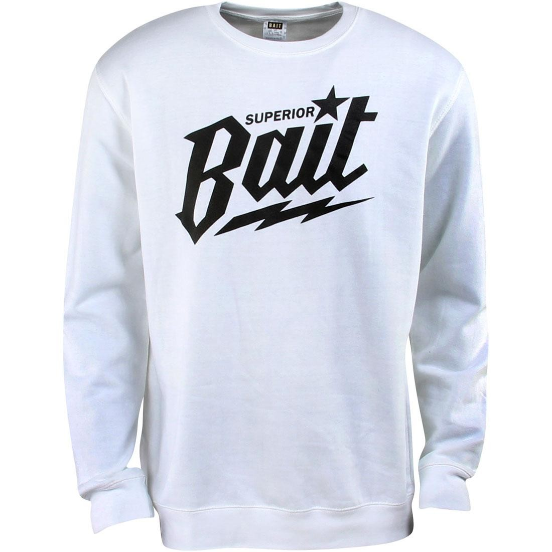 BAIT Superior BAIT Crewneck (white / black)