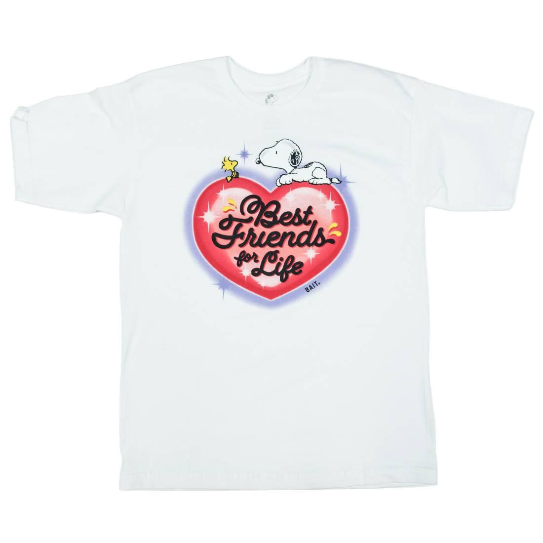 BAIT x Snoopy Men Best Friends Airbrush Tee (white)