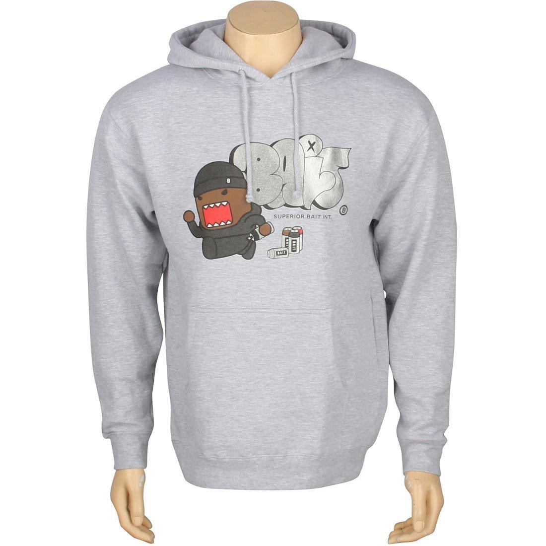 BAIT x Domo Graffiti Hoody (grey heather)