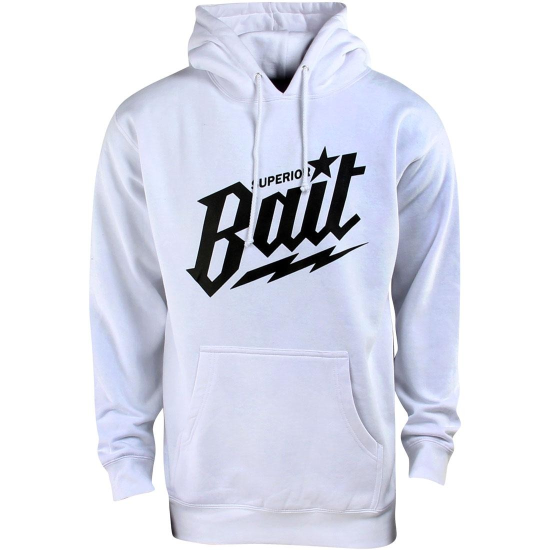 BAIT Superior BAIT Hoody (white / black)