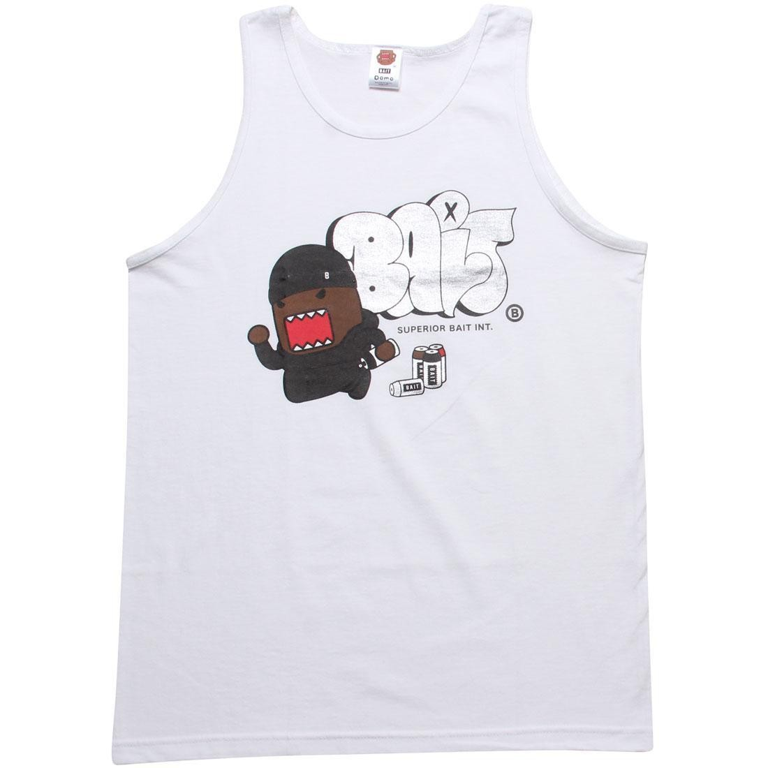 BAIT x Domo Graffiti Tank Top (white)