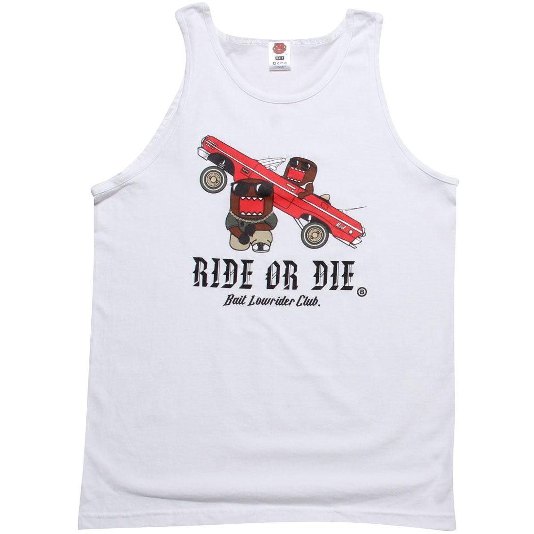 BAIT x Domo Low Rider Tank Top (white)