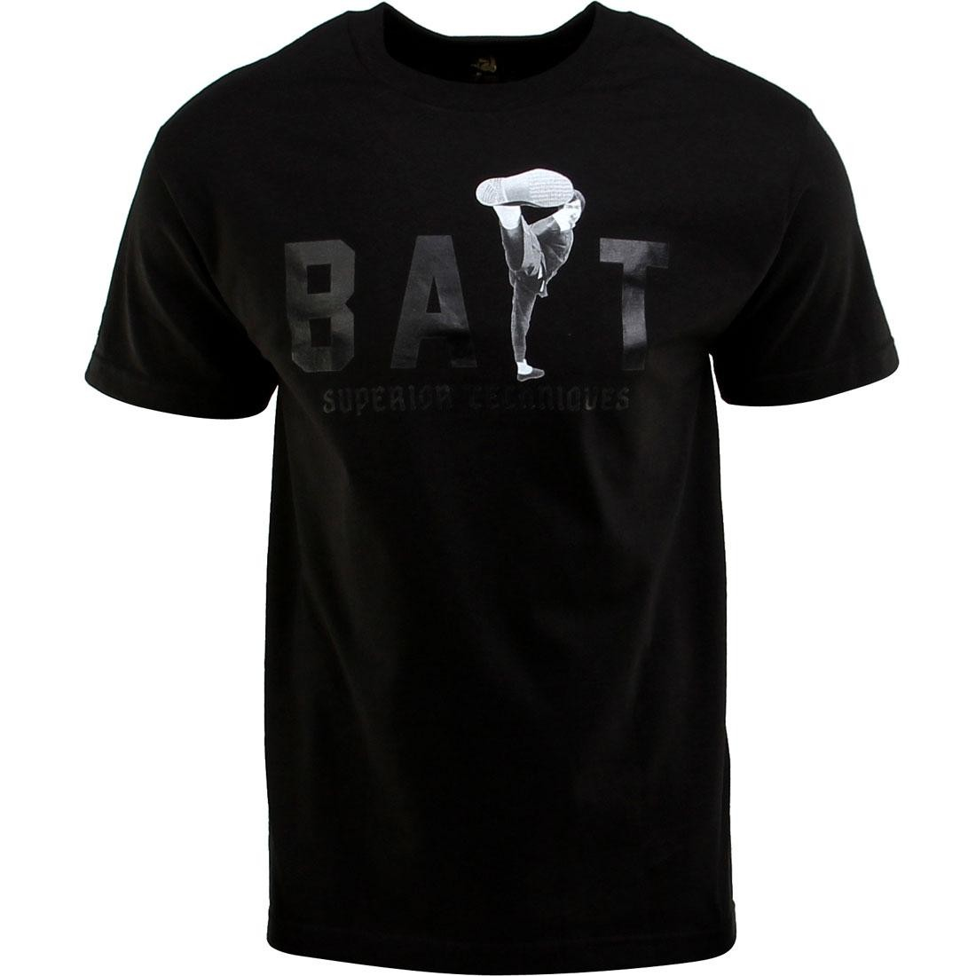 BAIT x Bruce Lee High Kick Tee (black / black)