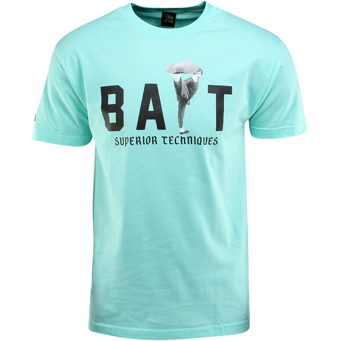 BAIT x Bruce Lee High Kick Tee (teal / celadon / black)