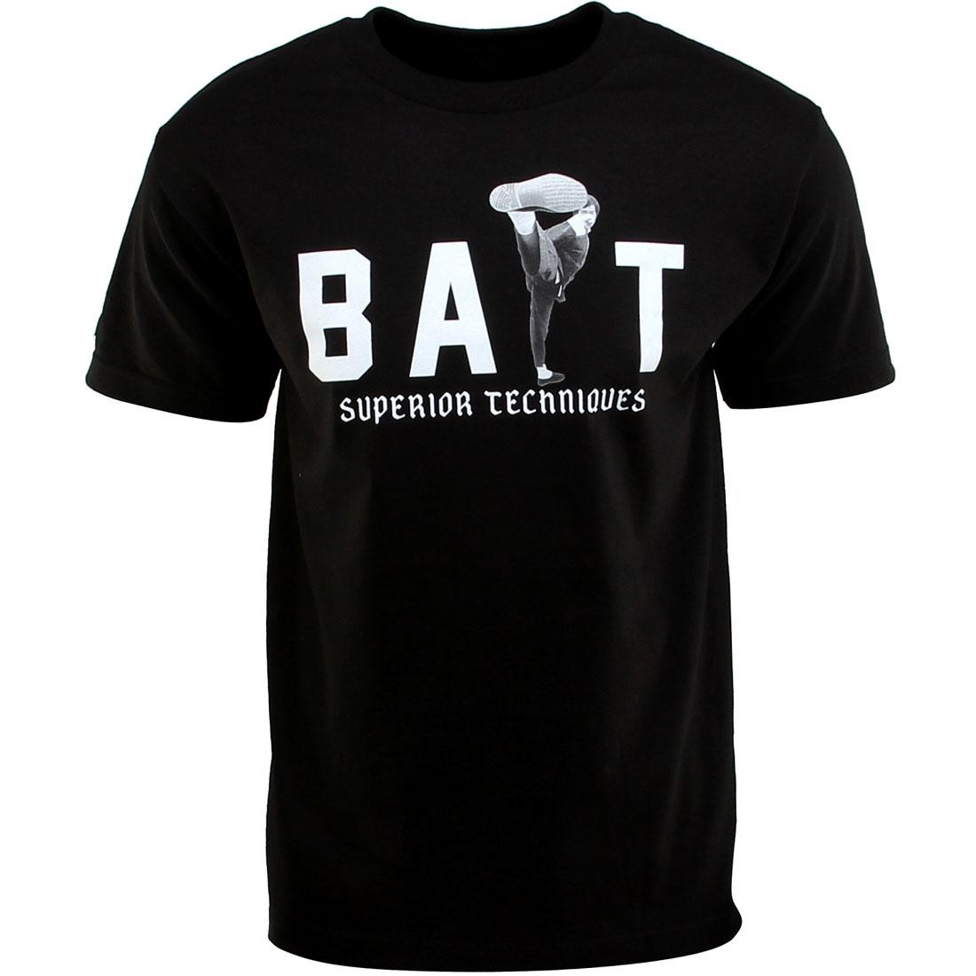BAIT x Bruce Lee High Kick Tee (black / white) - BAIT SDCC Exclusive