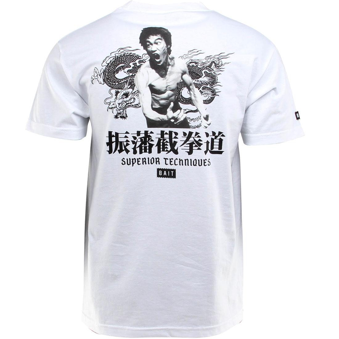 BAIT x Bruce Lee Superior Techniques Tee (white / black) - BAIT SDCC Exclusive