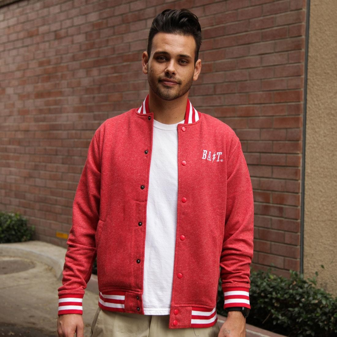 BAIT Baseball Jacket (red)