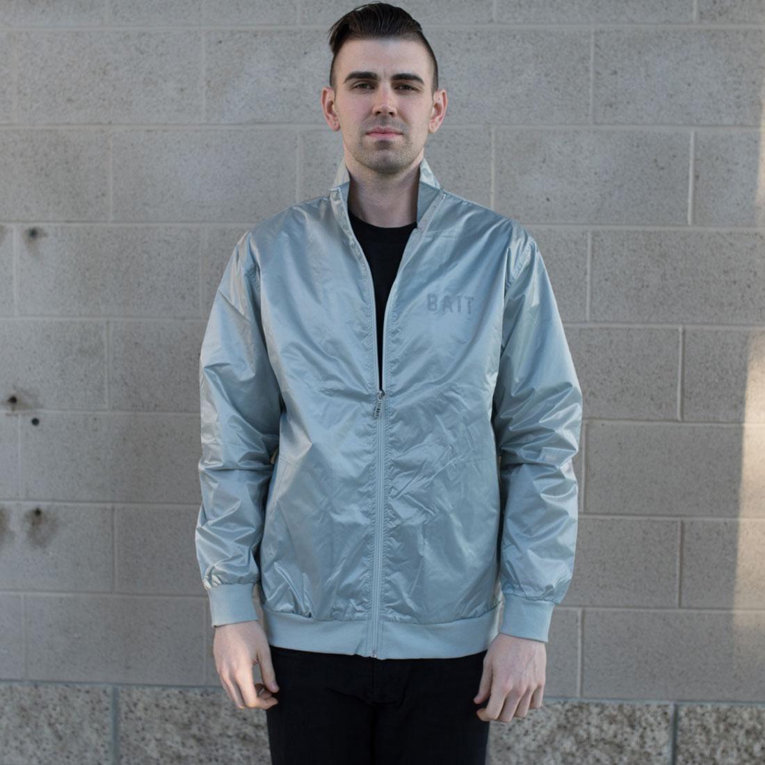 BAIT Nylon Track Jacket (gray)