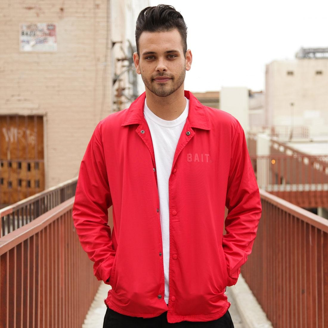 BAIT Coach Jacket (red)