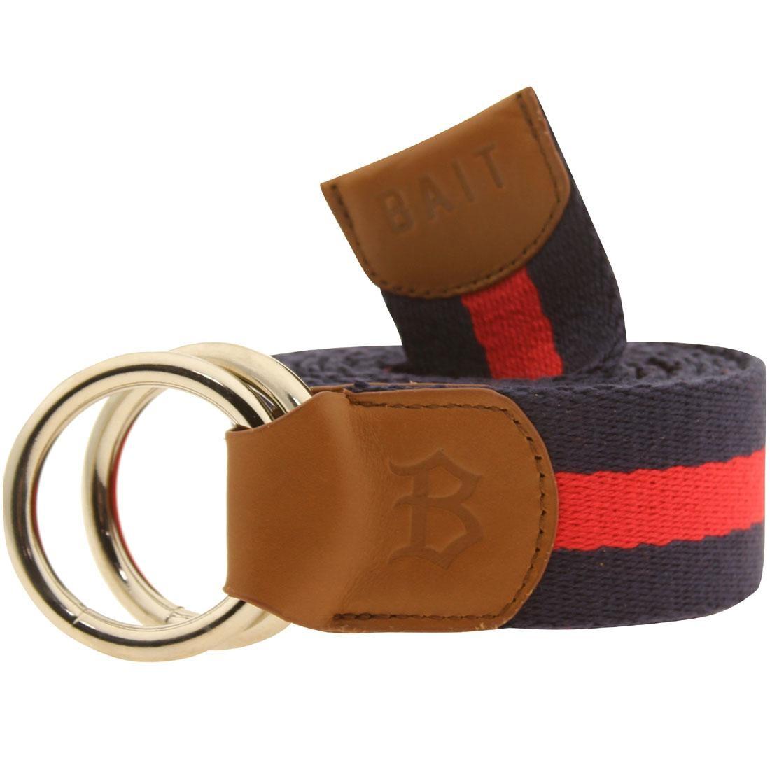 BAIT O-Ring Belt (navy / red)
