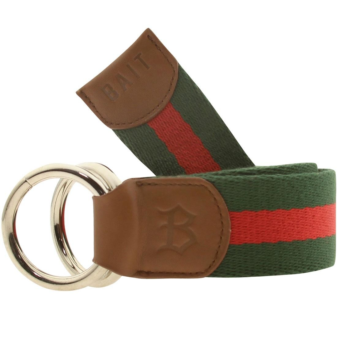 BAIT O-Ring Belt (green / red)