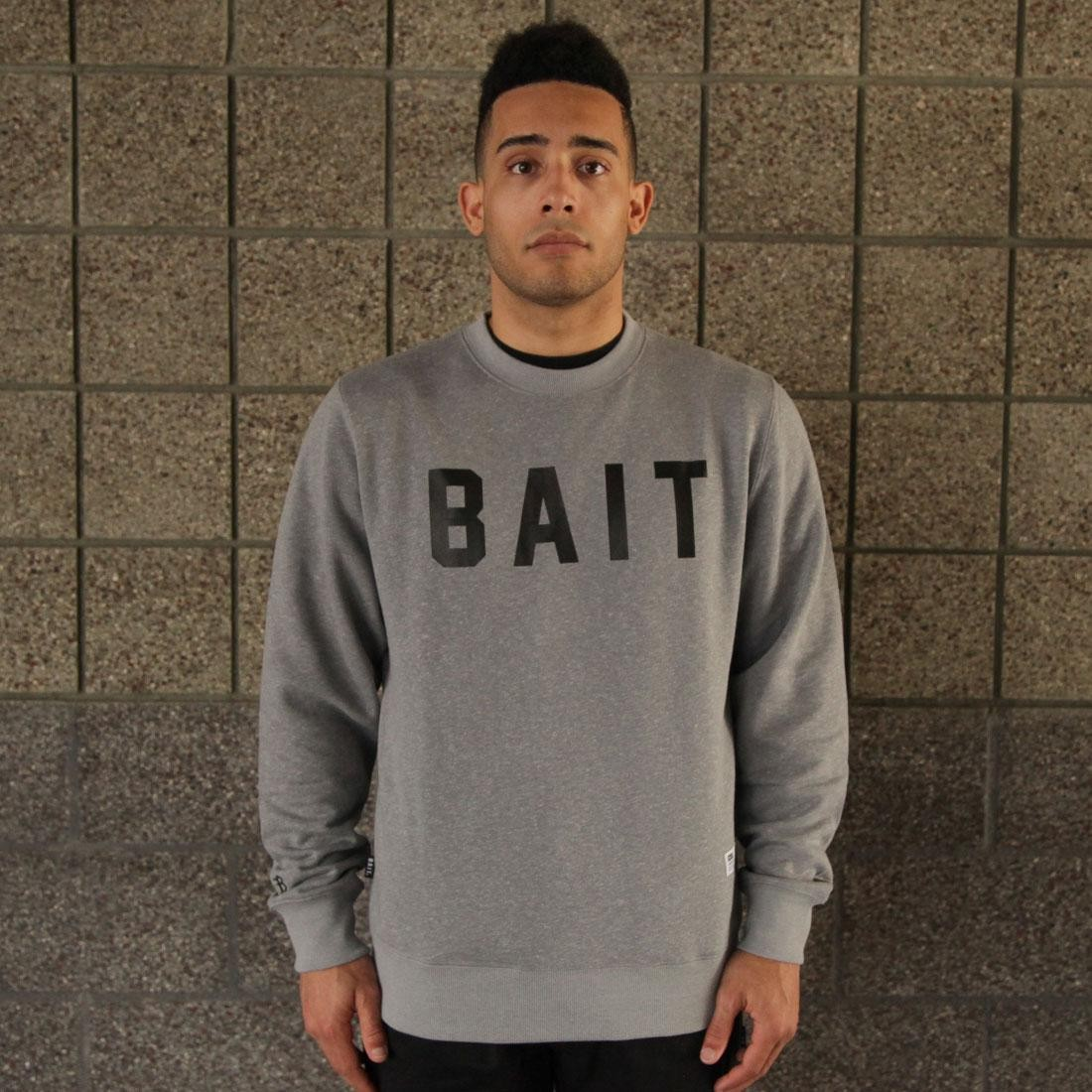 BAIT Invisible Pockets Fitted Crewneck (gray)